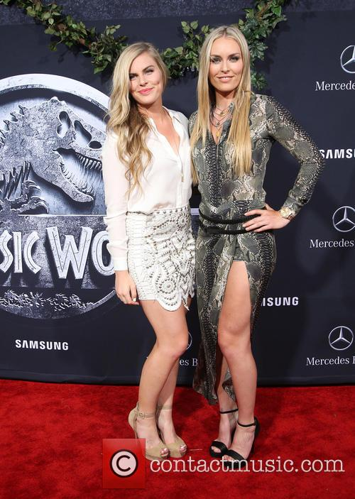 Karin Kildow and Lindsey Vonn 5