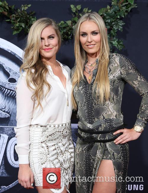 Karin Kildow and Lindsey Vonn 8