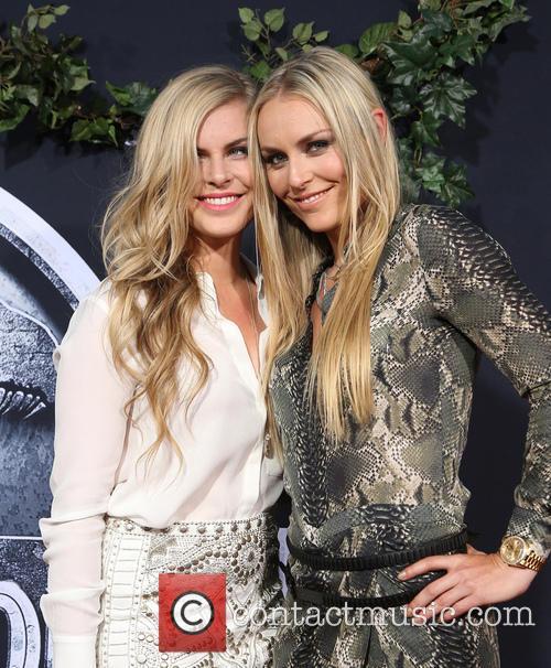 Karin Kildow and Lindsey Vonn 9