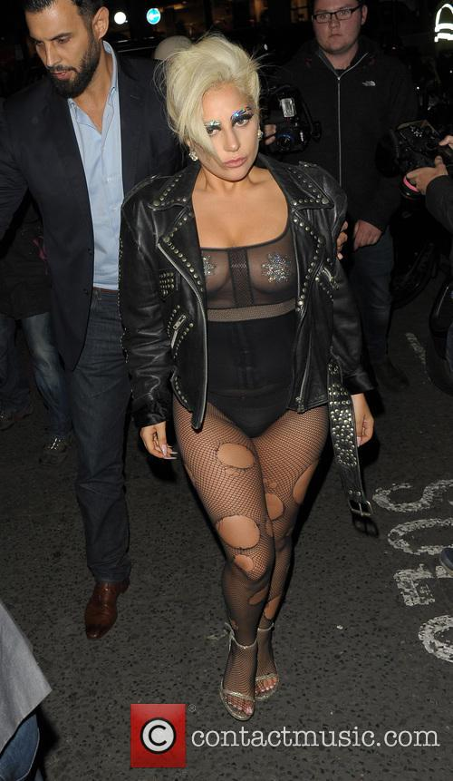 Lady Gaga at the Crobar and Ronnie Scott's...