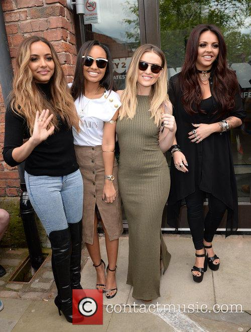 Jade Thirwall, Leigh Anne Pinnock, Perrie Edwards and Jesy Nelson 6