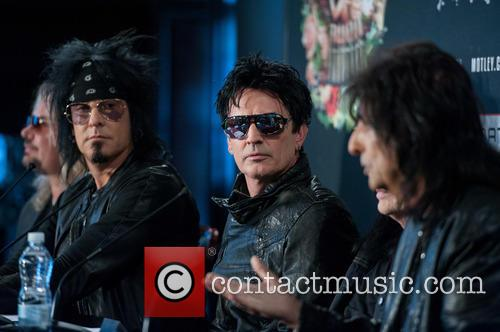 Nikki Sixx, Tommy Lee, Vince Neil and Mick Mars 11