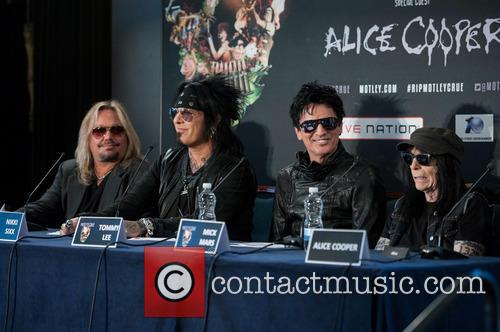 Nikki Sixx, Tommy Lee, Vince Neil and Mick Mars 1