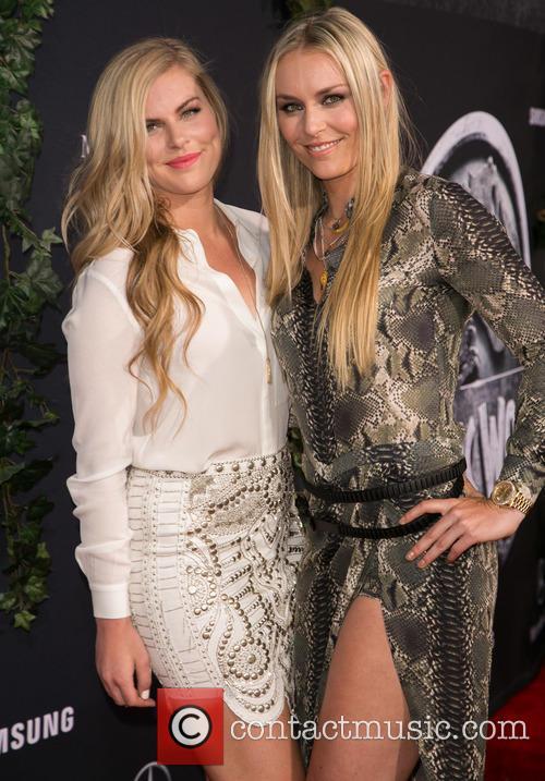 Karin Kildow and Lindsey Vonn 2