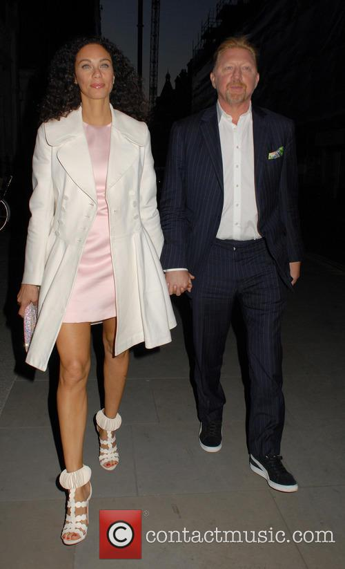 Lilly Becker and Boris Becker 4