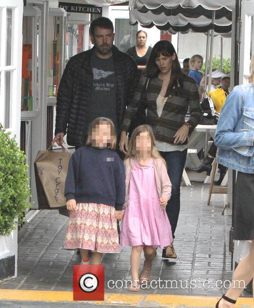 Jennifer Garner, Ben Affleck and Seraphina Affleck 2