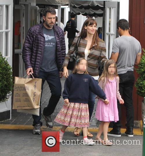 Jennifer Garner, Ben Affleck and Seraphina Affleck 4