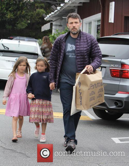 Jennifer Garner, Ben Affleck and Seraphina Affleck 5