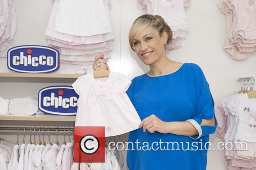 Lujan Arguelles at a photocall for baby brand...