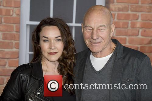 Sophie Alexandra Stewart and Patrick Stewart 2