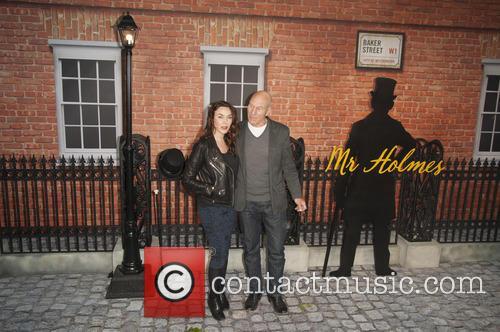 Sophie Alexandra Stewart and Patrick Stewart 1