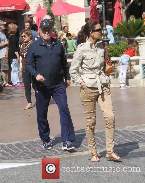Robert Duvall and Luciana Duvall 1