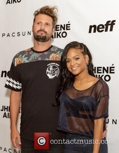Sean Neff and Christina Milian 4