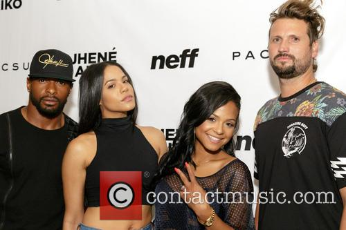 Dominique Jean Zephirin, Liz Milian, Christina Milian and Sean Neff 3