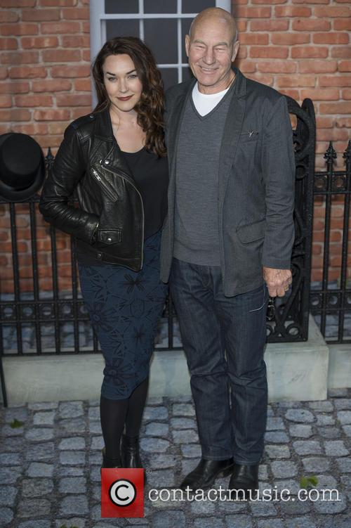 Sir Patrick Stewart and Sunny Ozell 6