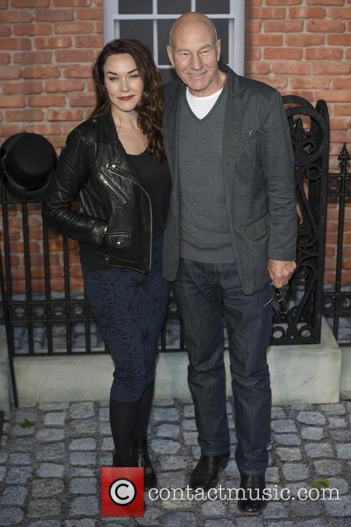 Sir Patrick Stewart and Sunny Ozell 7