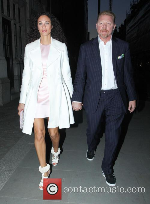 Lilly Becker and Boris Becker 7
