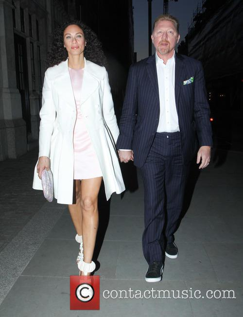 Lilly Becker and Boris Becker 8