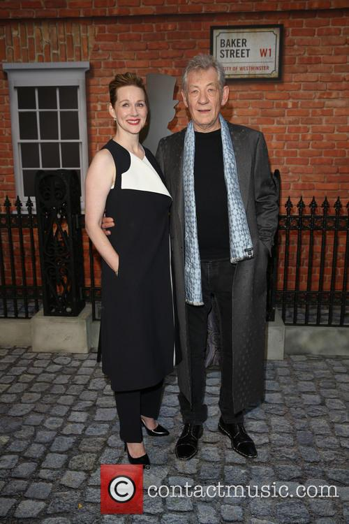 Laura Linney and Sir Ian Mckellen 8