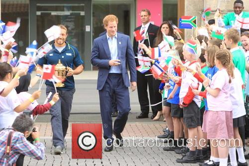 Jonny Wilkinson and Prince Harry 2