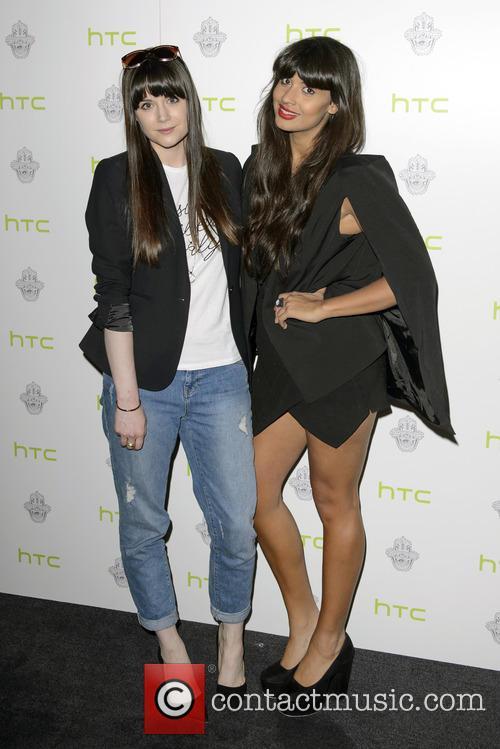 Lilah Parsons and Jameela Jamil 2