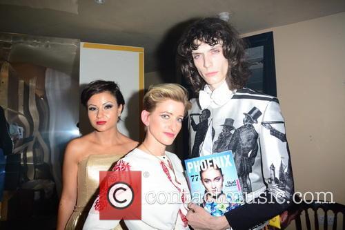 Nia Jacob, Hannah Kane and Model 2