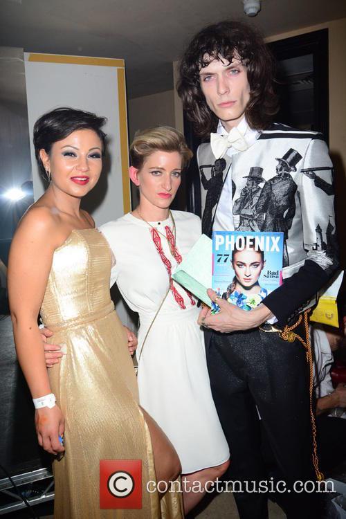 Nia Jacob, Hannah Kane and Model 1