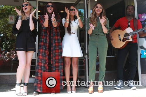 Little Mix, Perrie Edwards, Jesy Nelson, Leigh Pinnock and Fade Thirwall 3