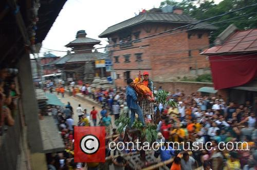 Nepal Festival Weeks After and Earthquake 2