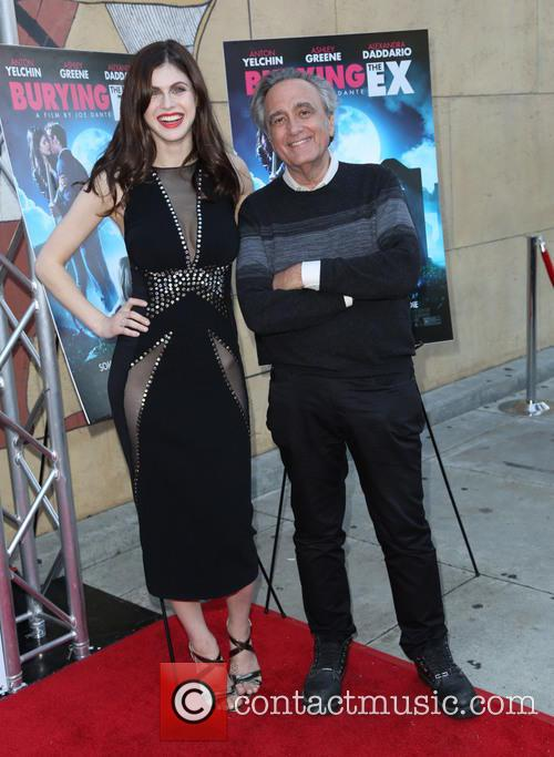 Alexandra Daddario and Joe Dante 7