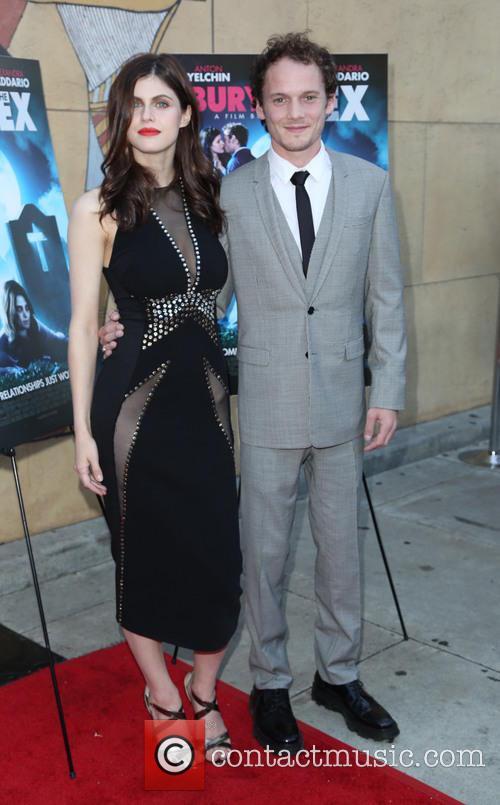 Alexandra Daddario and Anton Yelchin 10