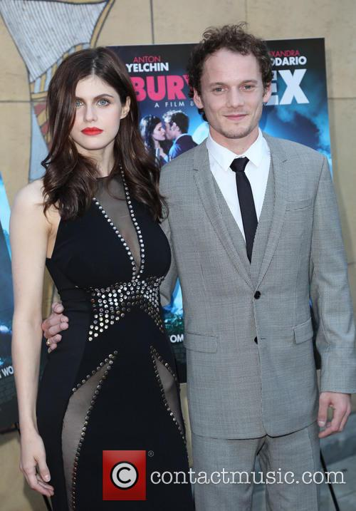 Alexandra Daddario and Anton Yelchin 11