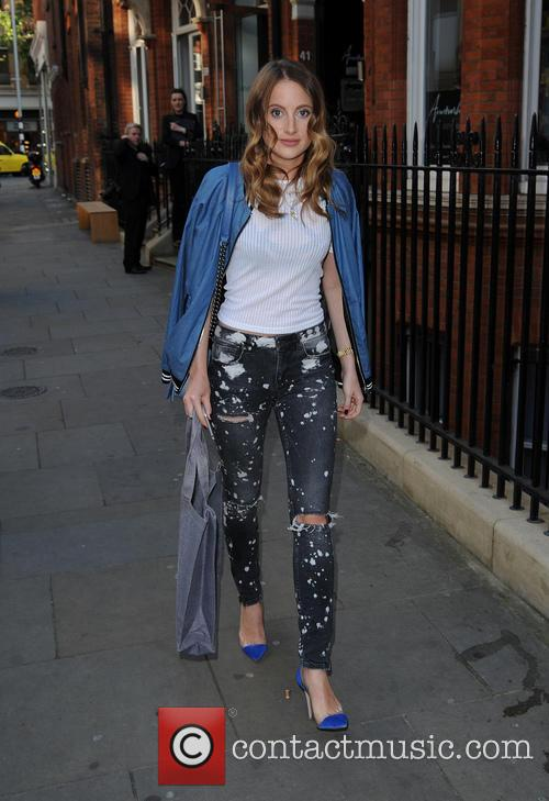 Rosie Fortescue arrives at Annoushka