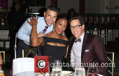Wilson Cruz, Aisha Tyler and Dan Bucatinsky
