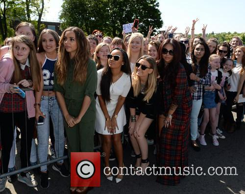 Perrie Edwards, Leigh Anne Pinnock, Jesy Nelson, Jade Thirwall and With Fans 10