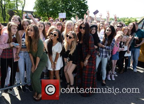 Perrie Edwards, Leigh Anne Pinnock, Jesy Nelson, Jade Thirwall and With Fans 11