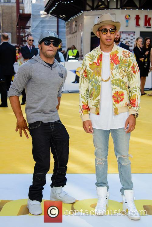 Nicolas Hamilton and Lewis Hamilton 2
