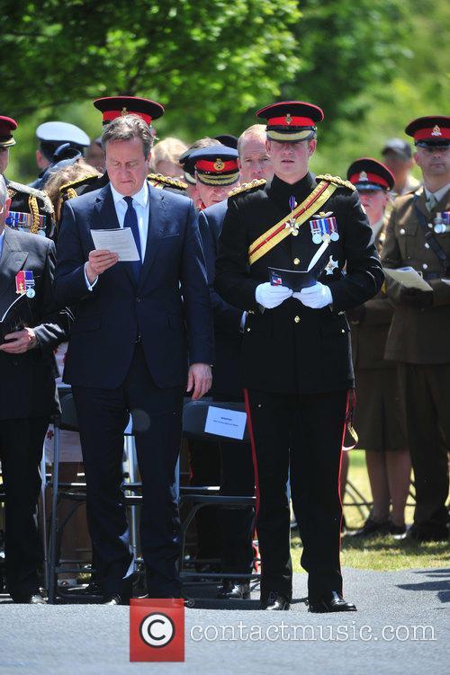 Hrh Prince Harry and David Cameron 2