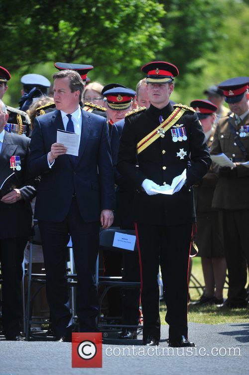 Hrh Prince Harry and David Cameron 3
