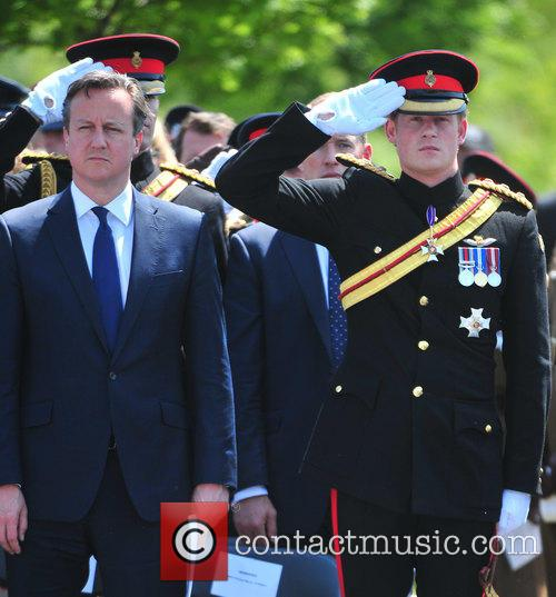 Hrh Prince Harry and David Cameron 10