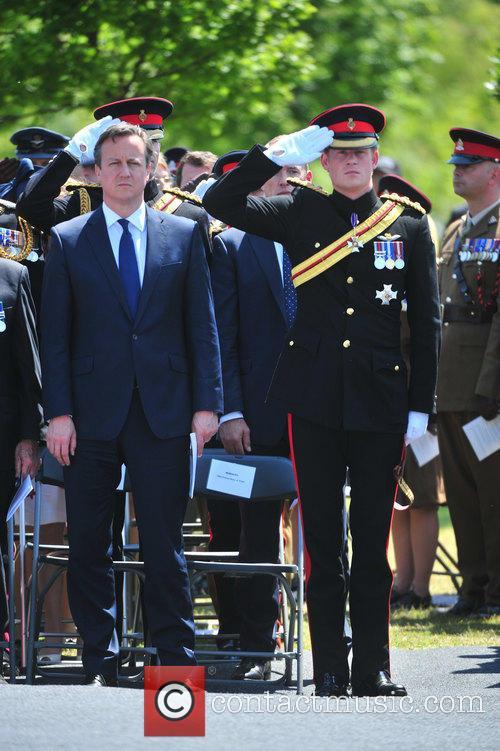 Hrh Prince Harry and David Cameron 11