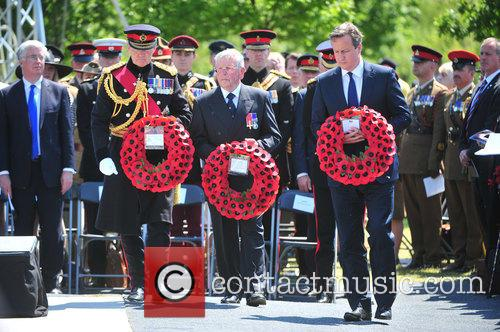 Hrh Prince Harry and David Cameron 1