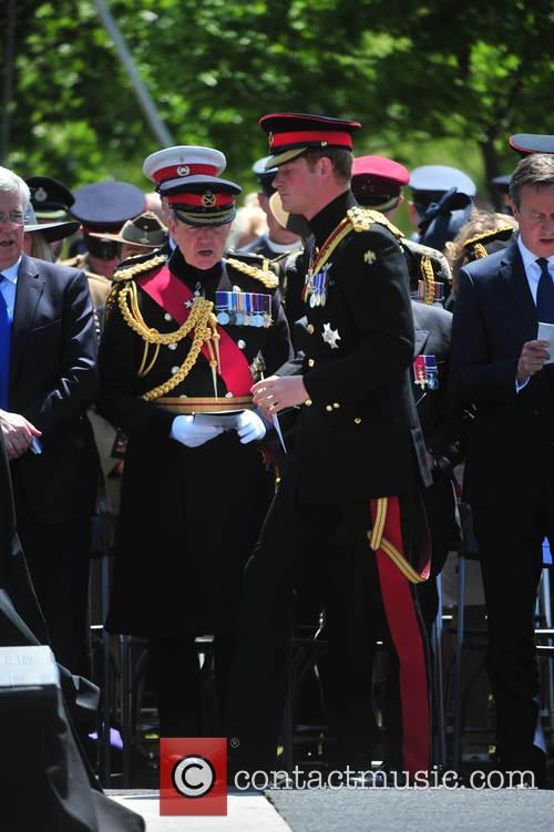 Prince Harry and David Cameron 4