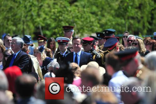 Prince Harry and David Cameron 11