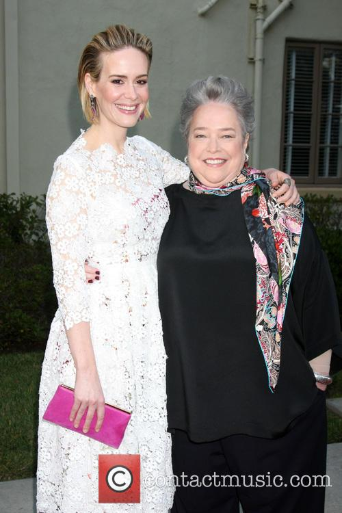 Sarah Paulson and Kathy Bates 8