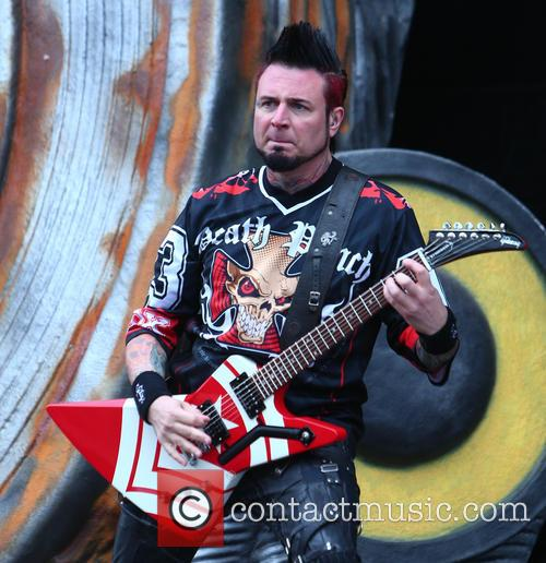 Jason Hook and Five Finger Death Punch 1