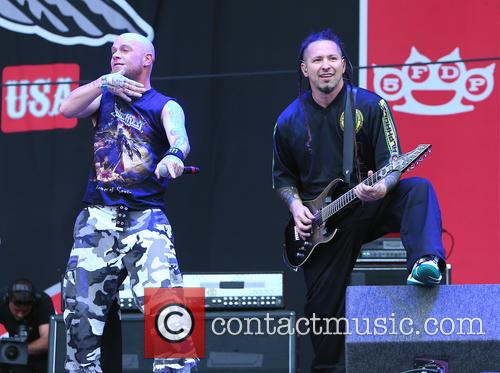 Ivan Moody, Zoltan Bathory and Five Finger Death Punch 9