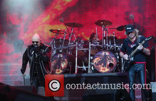Rob Halford, Richie Faulkener and Judas Preist 2