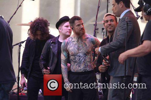 Andy Hurley, Fall Out Boy, Patrick Stump and Pete Wentz 2