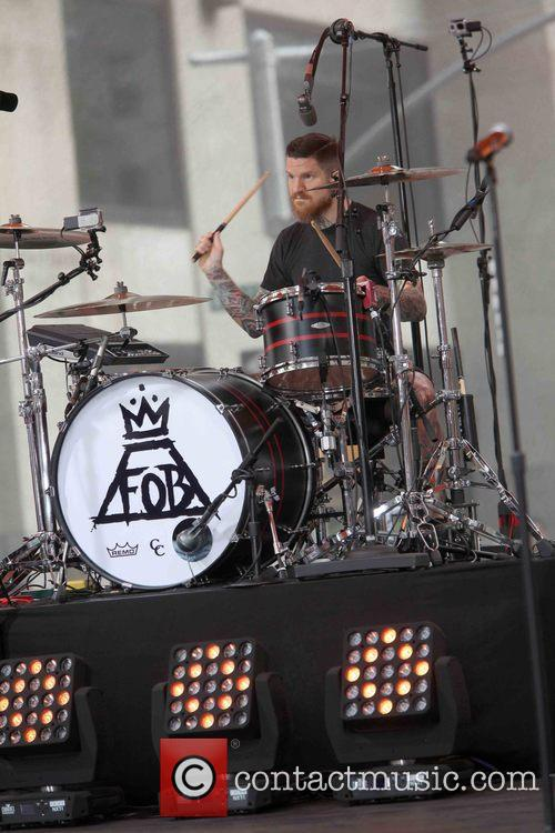 Andy Hurley and Fall Out Boy 3